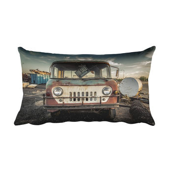 Jeep Thing Rectangular Pillow