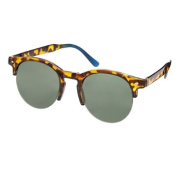 ASOS Sunglasses With Cutout Detail - Brown