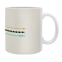 Allyson Johnson Minimal Arrows Coffee Mug