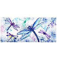 Home & Garden DRAGONFLY SASSAFRAS SWITCH MAT Rubber Welcome Spring 431279