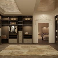 Sectional walk-in wardrobe ATLANTE Collection by EmmeBi | design Pietro Arosio