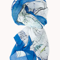 World Explorer Map Scarf
