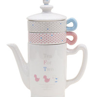 [ZAKKA SHOP Shinzi Katoh Collection]Tea for Two [bird]