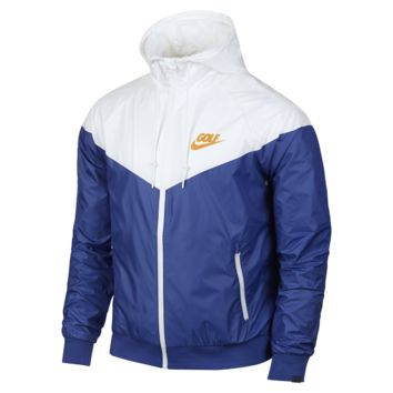 Nike Golf Windrunner Men's Jacket Size Medium (Blue)