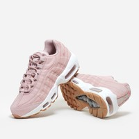 Nike Sportswear Air Max 95 Premium 807443 600 | Pink Oxford/White | Footwear - Naked