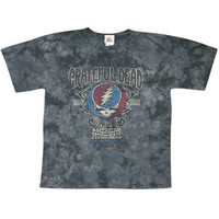 Grateful Dead Men's  American Music Hall Tie Dye T-shirt Multi
