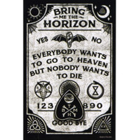 Bring Me The Horizon Ouija Sticker
