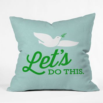 Nick Nelson Lets Do This Throw Pillow