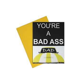 Card-  NEW Bad Ass Dad