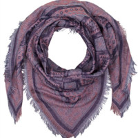 Aquare Multi Pattern Scarf- Pink