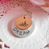 Dream Necklace With Bird