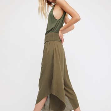 Free People Miranda Angular Pull-On Pants