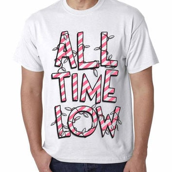 The best Seller  All Time Low Logo  #RosTheRos TShirt Mens and T Shirt Girls edition