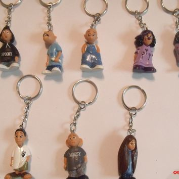 Homies Figure Mijo Series Key Chain Series 1 Complete set 8 pieces