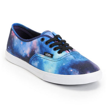 Vans Women's Authentic Lo Pro Galaxy Print Shoe
