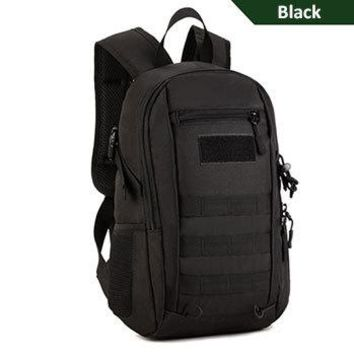 Sports gym bag 12L Male Outdoor Small Military Tactical Bag Nylon Waterproof Hiking Travellling Camping Sports Backpack Rucksack Mochila KO_5_1