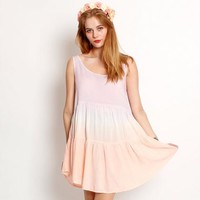 Kiss the Sky Evening Sky Baby Doll Dress