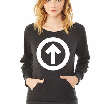 Above The Influence ladies sweatshirt