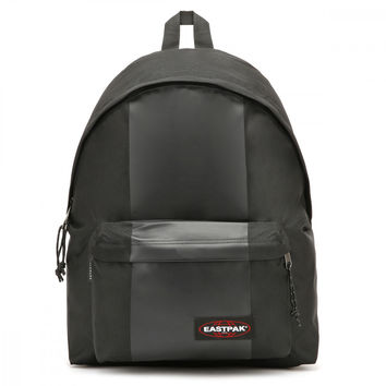Eastpak Black Rubber Padded Pak'r Backpack