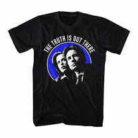 X-Files Truth Out There Black T-Shirt
