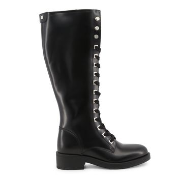 Guess Black Round Toe Boots