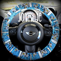 Batman Steering Wheel Cover Superhero Comic book just in time for Christmas