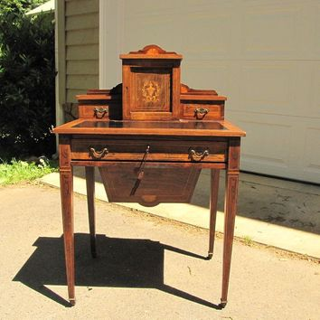 Rosewood Ladies Writing Desk