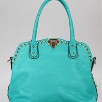 Pre-Order: Turquoise Stud Tote