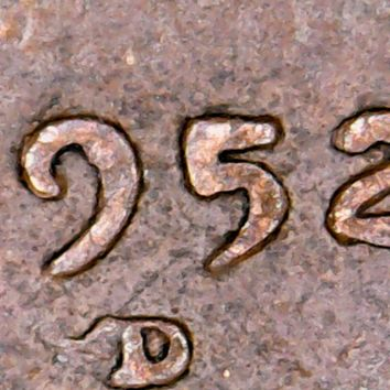 1952 D Over a Horizontal/Sideways S. Ultra Rare Error Coin Looks to be quite Expensive!!