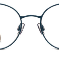 Milton Eyeglasses in Brushed Navy for Women | Warby Parker