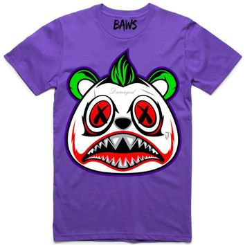 JOKER BAWS Purple Shirt