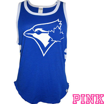 Toronto Blue Jays Victoria's Secret PINK® Pieced Bro Tank - MLB.com Shop