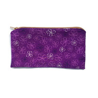 Cloth Wallet, Small Zippered Pouch, Small Cloth Purse, Make Up Bag