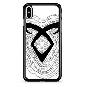 Shadowhunters iPhone X Case