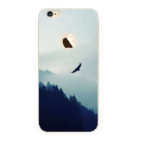 Mountain In The Morning Painting Iphone 7 7 Plus &  6 6s Plus & 5 5s Cover Case