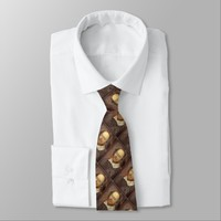 William Shakespeare Tie (printed front and back)