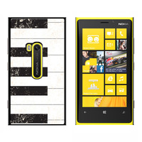 Piano Keys Vintage Distressed - Snap On Case for Nokia Lumia 920