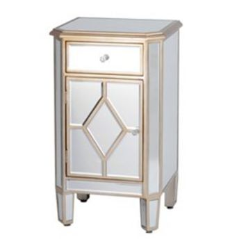 Manhattan Mirrored Nightstand | Kirkland's