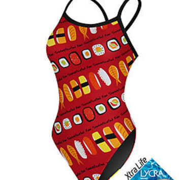 Sporti Sushi Thin Strap Swimsuit at SwimOutlet.com