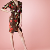 Tucker by Gaby Basora Web Shop :: --Dresses :: Northern Desert Floral Disco Dress