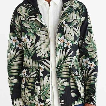 Penfield Vassan Mountain Printed Jacket- Black