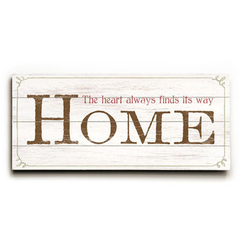 Personalized Home Wood Sign