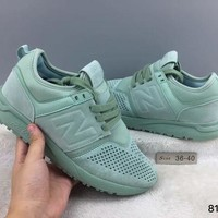 DCCK1IN cxon new balance nb247 mid high mint green for women men running sport casual shoes sneakers