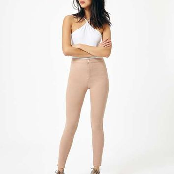 STEFFI Blush Super High Waist Jean - Free Crop with Jeans - Sale & Offers