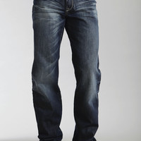 Stetson Mens Stetson Modern Fit Jeans Embroidered Deco Back Pkt Ows