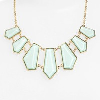 Stephan & Co. Geometric Bib Necklace | Nordstrom