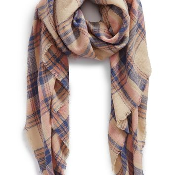 BP. 'Pretty Plaid' Oblong Scarf | Nordstrom