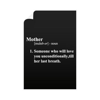 Mother Definition Vertical Wall Decals