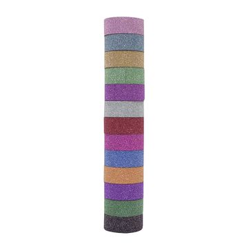 Multicolor Glitter Tape Tube by Recollections™