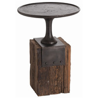Anvil Cast Iron Side Table